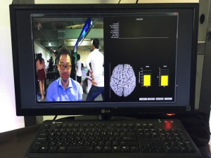 Brainwave detection by facial micro movements