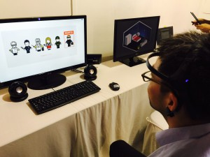 Brainwave detection of visual recognition (ERP)